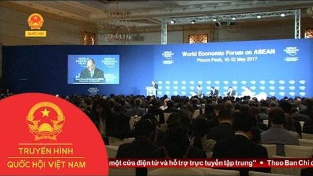 Thời sự - Thủ tướng dự khai mạc WEF – Asean 2017 tại Campuchia