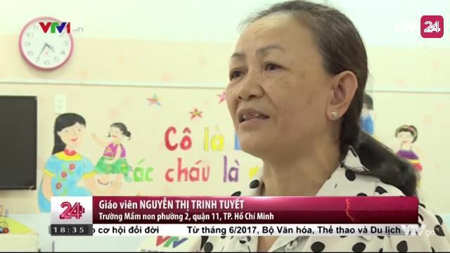 Bài toán giữ người với giáo viên mầm non | VTV24