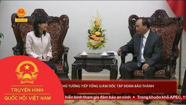 Thời sự - Thủ tướng tiếp Tổng Giám đốc Tập đoàn Bảo Thành