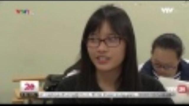 Tỉ lệ thí sinh đăng kí thi lịch sử tăng cao | VTV24