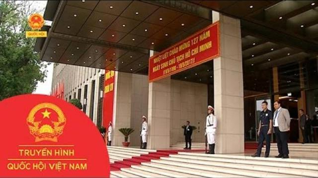 Kết nối với phóng viên Đặng Linh tại Nhà Quốc hội | Thời Sự | THQHVN