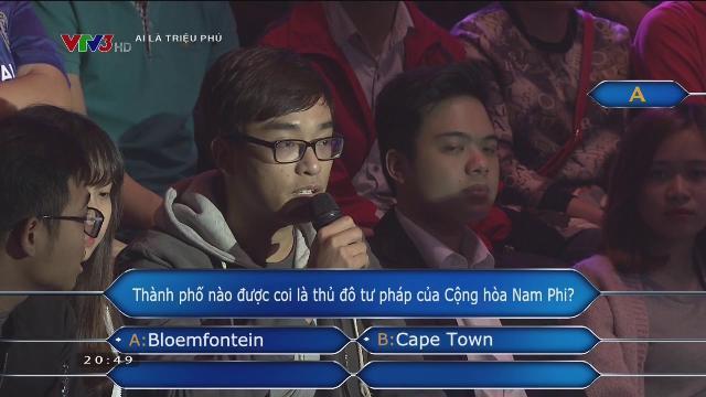 VŨ MINH HOÀNG | AI LÀ TRIỆU PHÚ | FULL HD | 28/03/2017