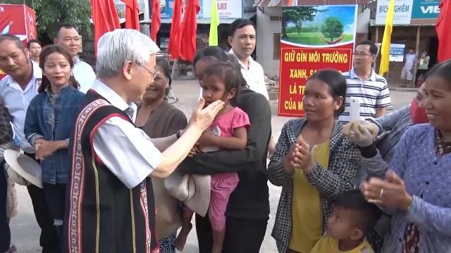 Tin Thời Sự Hôm Nay (22h - 13/4/2017): Tổng Bí Thư Nguyễn Phú Trọng Thăm và Làm Việc Tại Kon Tum
