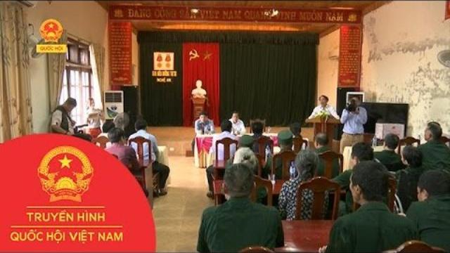 Bộ Lao động thăm và trao quà thương binh tỉnh Nghệ An|Thời sự|Truyền hình Quốc hội Việt Nam|