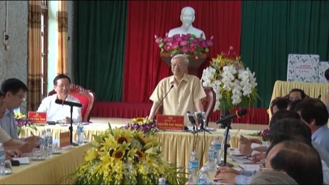 Tin tức 24h: Tổng Bí thư Nguyễn Phú Trọng làm việc tại tỉnh Hòa Bình
