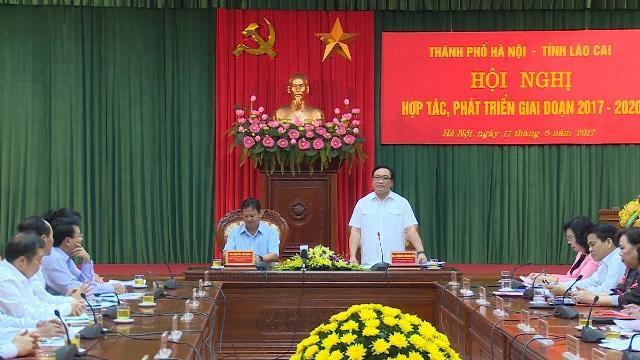 Tin Tức 24h: Hà Nội - Lào Cai thúc đẩy hợp tác phát triển toàn diện