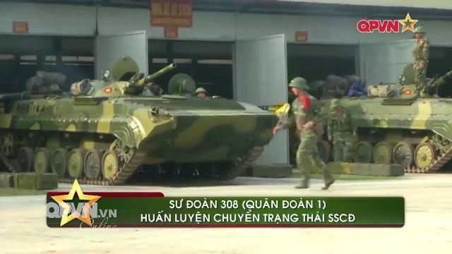 Bộ binh cơ giới và Cảnh sát biển chuyển trạng thái sẵn sàng chiến đấu