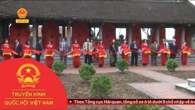 Thời sự - Khai mạc Lễ hội truyền thống Văn Miếu Mao Điền