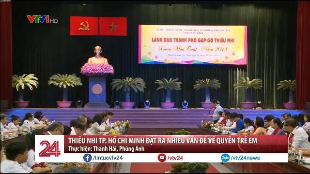 Thiếu nhi TP. Hồ Chí Minh đặt ra nhiều vấn đề về quyền trẻ em - Tin Tức VTV24
