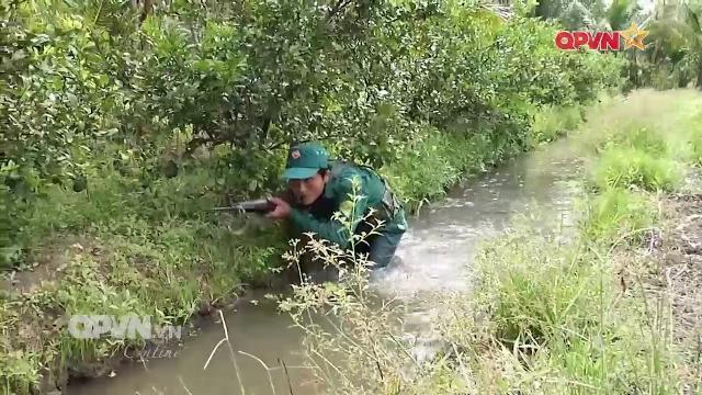 Huấn luyện chiến thuật, nâng cao trình độ tác chiến cho dân quân tự vệ