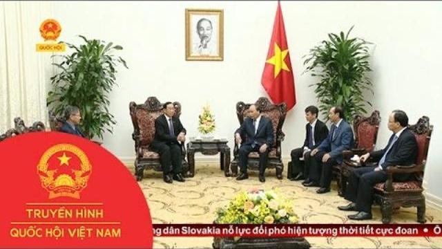 Thời sự - Thủ tướng tiếp Bộ trưởng Công chính và Vận tải Lào