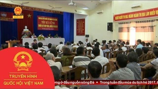 Thời sự - Đoàn ĐBQH Đà Nẵng tiếp xúc cử tri quận Hải Châu