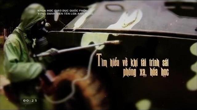 Khí tài trinh sát phóng xạ, hóa học của Việt Nam