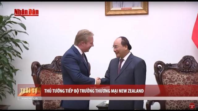 Tin Thời Sự Hôm Nay (22h - 8/5/2017): Thủ Tướng Tiếp Bộ Trưởng Thương Mại New Zealand