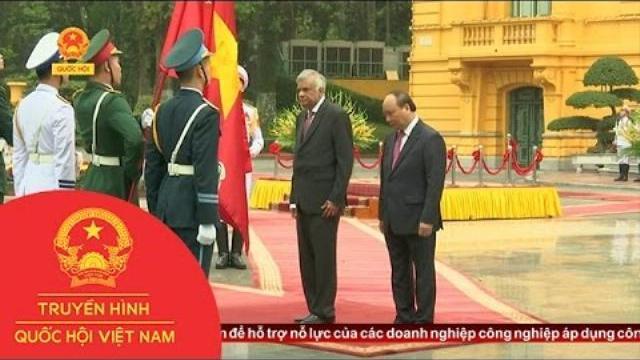 Thời sự - Thủ Tướng Sri Lanka Chính Thức Thăm Việt Nam