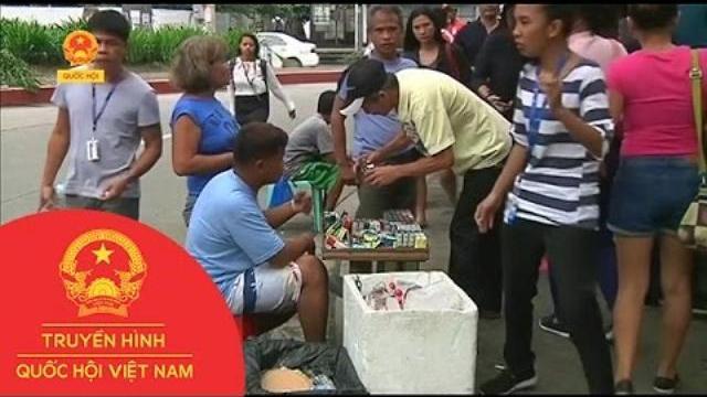 Philippines cấm hút thuốc nơi công cộng | Thời Sự | THQHVN