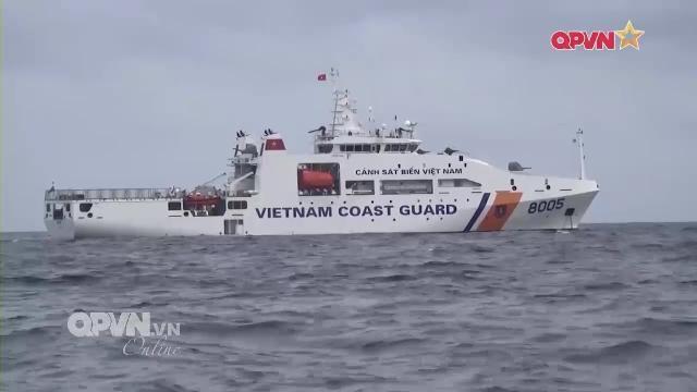 Cảnh sát biển Việt Nam khai thác tàu hiện đại, bảo vệ vững chắc chủ quyền trên biển