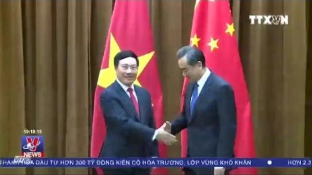 Bộ trưởng ngoại giao Phạm Bình Minh đến Trung quốc bàn về hợp tác song phương