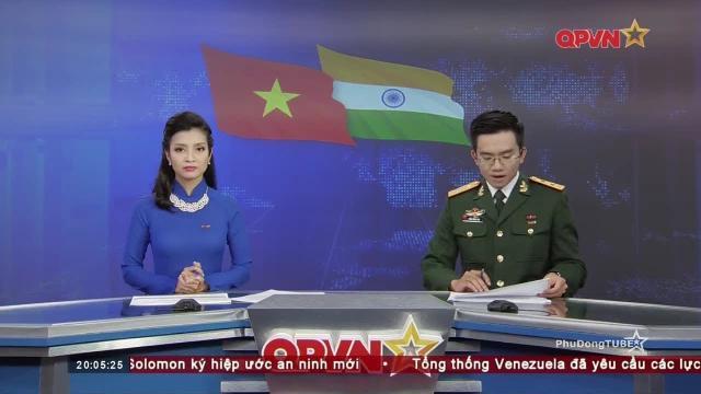 Thời sự Quốc phòng Việt Nam ngày 15/8/2017: Quan hệ Quốc phòng Việt Nam Ấn Độ