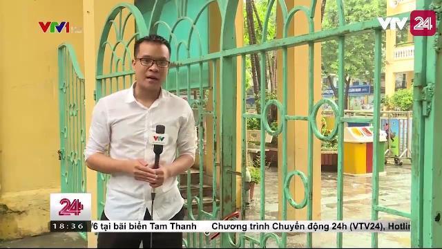 An ninh nghiêm ngặt, nhưng trường tiểu học vẫn bị kẻ xấu xâm nhập | VTV24
