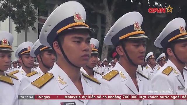 Lễ tốt nghiệp sĩ quan Pháo binh, Hải quân, Phòng hóa cấp phân đội