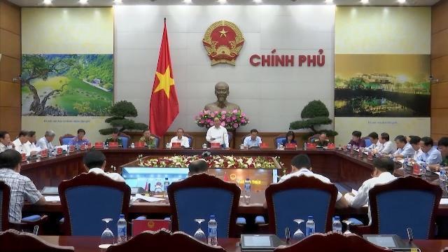 Thủ tướng Nguyễn Xuân Phúc chủ trì Hội nghị trực tuyến toàn quốc về tình hình an ninh trật tự