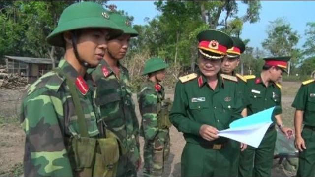 Bộ Tư lệnh Quân khu 7 kiểm tra huấn luyện chiến sĩ mới