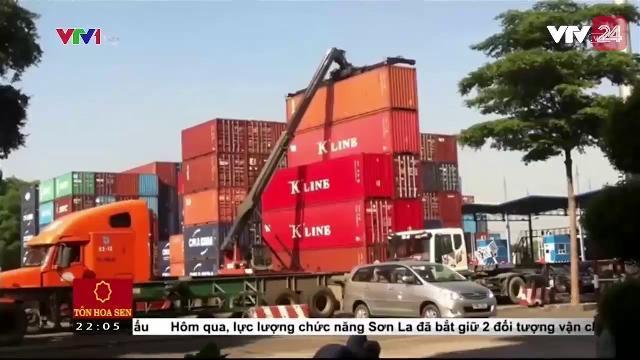 Tràn Làn Hàng Hóa Được Thẩm Lậu Qua Cảng Biển - Tin Tức VTV24