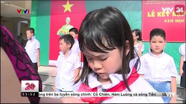 Lễ kết Nạp Đội Viên Trong Ngày Thành Lập Đội TNTP Hồ Chí Minh - Tin Tức VTV24