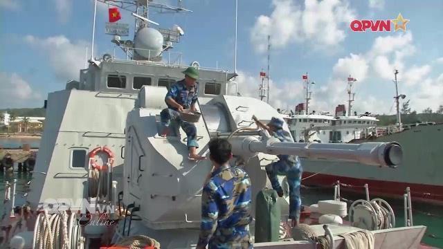 Thời sự Quốc phòng Việt Nam ngày 5/5/2017: Bảo dưỡng tàu chiến ở Lữ đoàn 127