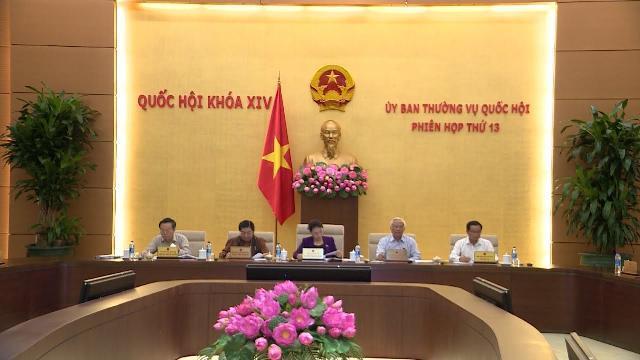 Ủy ban Thường vụ Quốc hội cho ý kiến về dự án Luật Quản lý nợ công