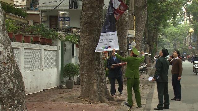 Tập trung cao độ để lập lại trật tự đô thị, vỉa hè tại Hà Nội