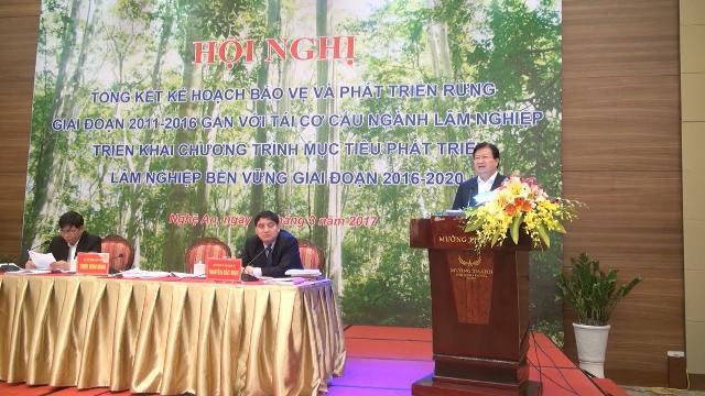 Hội nghị về bảo vệ, phát triển rừng giai đoạn 2016 - 2020