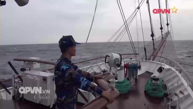 Thời sự Quốc phòng Việt Nam ngày 10/4/2017: Tàu buồm Lê Quý Đôn lần đầu vượt Biển Đông