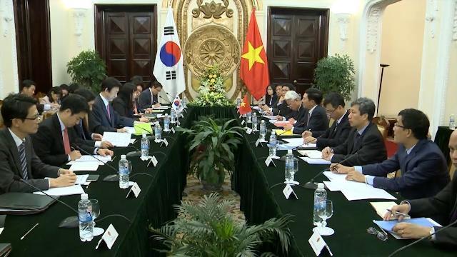Việt Nam - Hàn Quốc: Nỗ lực tăng cường tin cậy chính trị