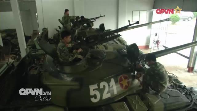 Quân đoàn 1 sửa chữa, nâng cấp, tăng hạn sử dụng vũ khí