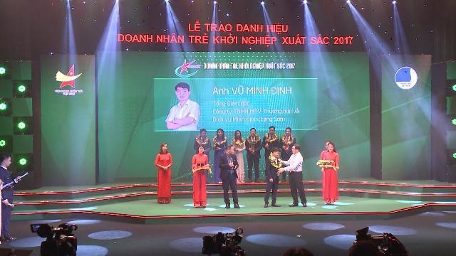 Tin Tức 24h: Lễ trao danh hiệu Doanh nhân trẻ khởi nghiệp xuất sắc