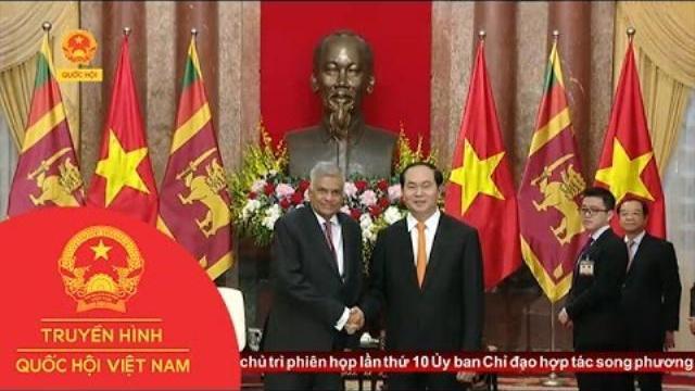 Thời sự - Chủ Tịch Nước Tiếp Thủ Tướng Sri Lanka