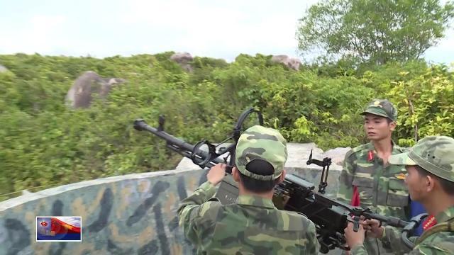 Đại đội Đ30 bảo vệ đảo tiền tiêu Nhơn Châu, Bình Định