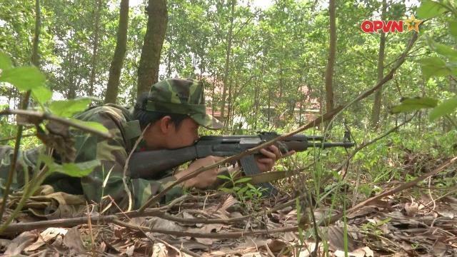 Trung đoàn 125 huấn luyện sát thực tế chiến đấu