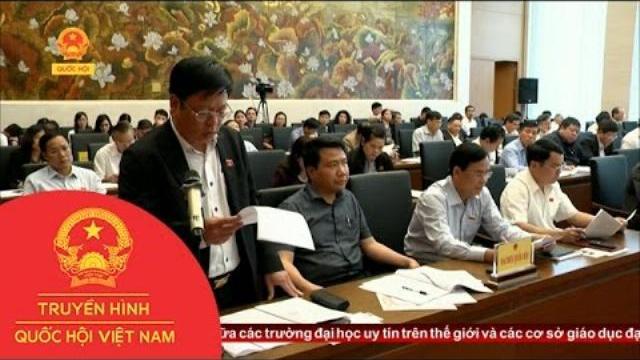 Thời sự - Đại Biểu Quốc Hội Chuyên Trách Cho Ý Kiến Về Luật Quy Hoạch