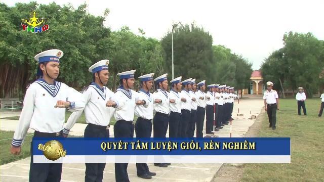 Tân binh Lữ đoàn Hải quân đánh bộ 101 trên thao trường