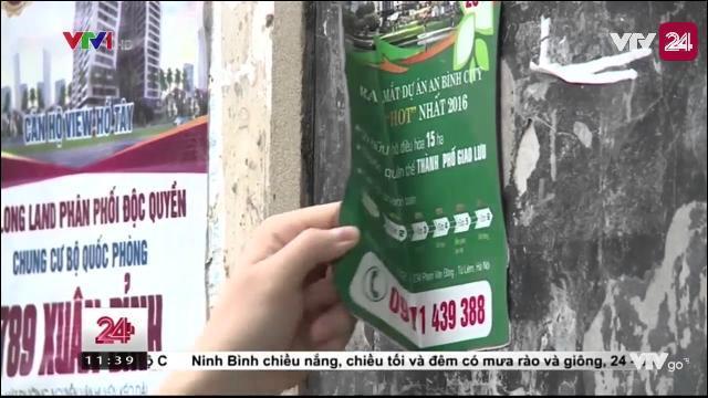 Tăng cường quản lý quảng cáo rao vặt | VTV24