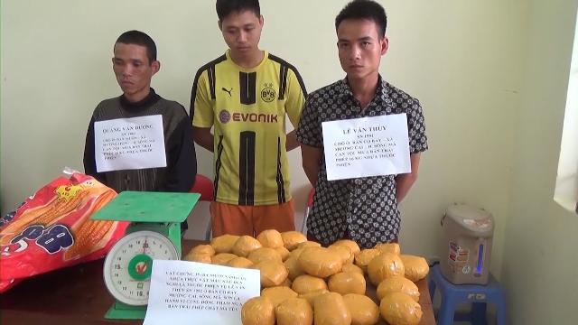 Sơn La bắt 2 đối tượng buôn bán ma túy, thu hơn 16kg nhựa thuốc phiện