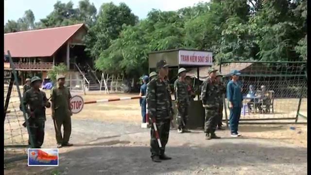 Huyện M'ĐRắc Đắk Lắk diễn tập bảo vệ khu vực phòng thủ