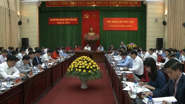 Hội nghị lần thứ 8 Ban Chấp hành Đảng bộ TP. Hà Nội khóa XVI