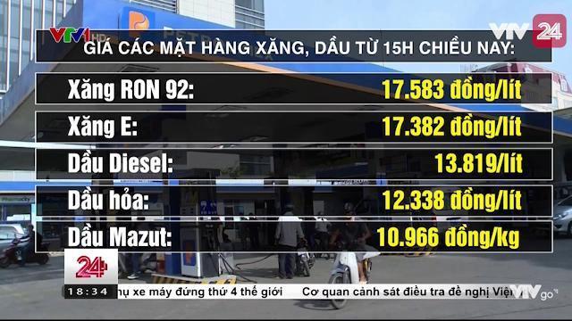 Xăng tăng giá | VTV24