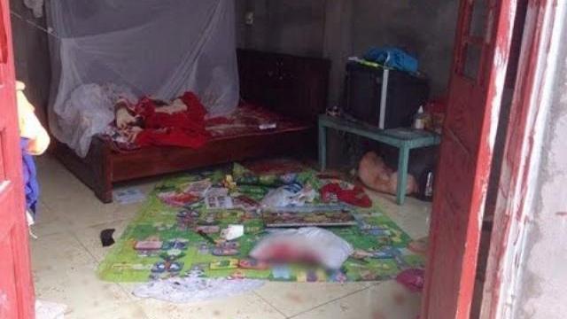 Chồng truy sát cả nhà khiến con gái 4 tuổi tử vong