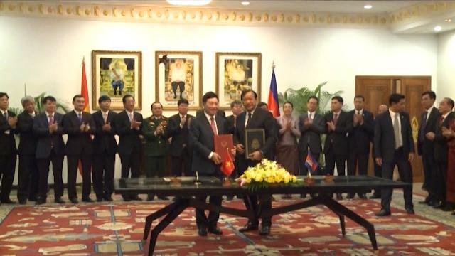 Việt Nam - Campuchia họp Ủy ban Hỗn hợp lần thứ 15