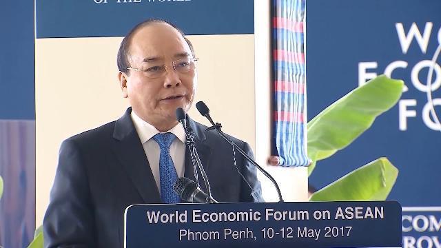 Thủ tướng Nguyễn Xuân Phúc tiếp tục dự WEF-ASEAN năm 2017